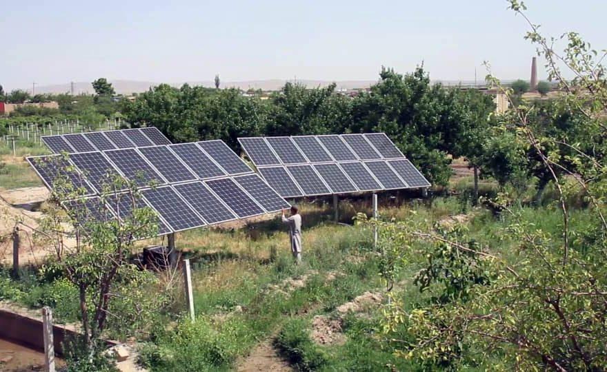 برق خورشیدی سولر