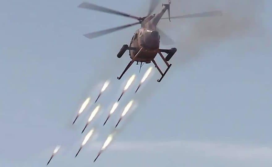 حملات هوایی ارتش