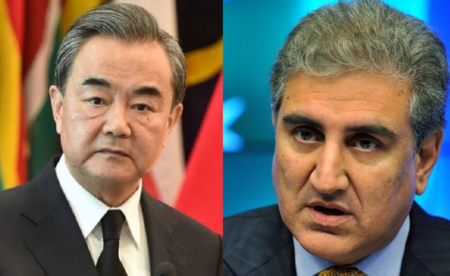 وزیرخارجه چین و پاستان